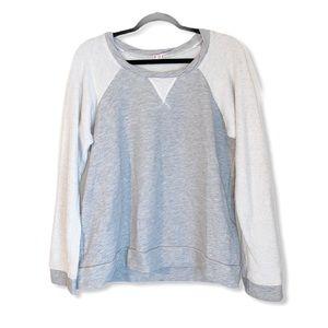 ANTHROPOLOGIE t.la raglan sweatshirt